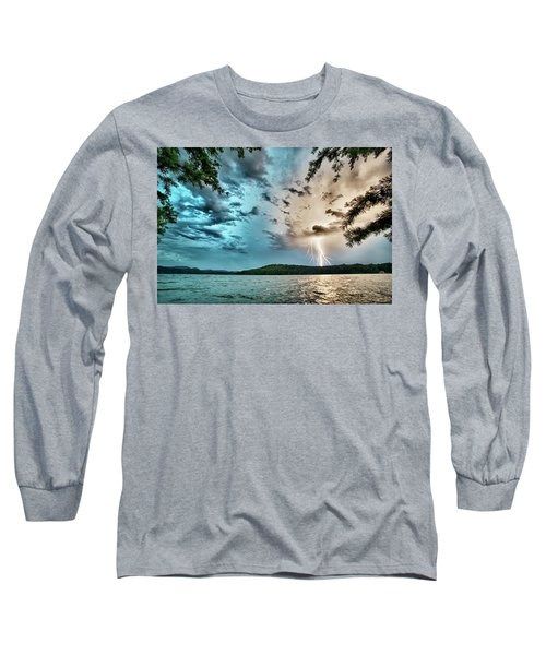 Beautiful Landscape Scenes At Lake Jocassee South Carolina Long Sleeve T-Shirt