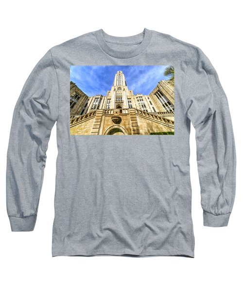 Cathedral Of Learning Long Sleeve T-Shirt