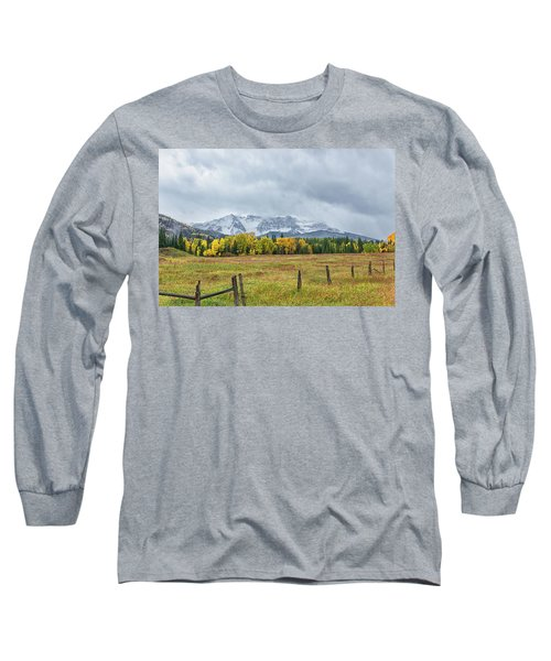 Colorado Fall Foliage Long Sleeve T-Shirt