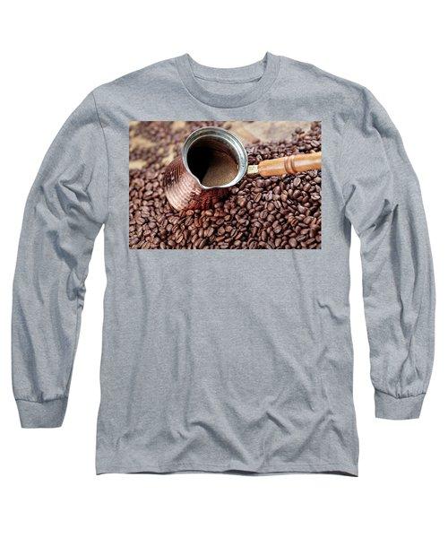 Fresh Roasted Coffe Beans Long Sleeve T-Shirt