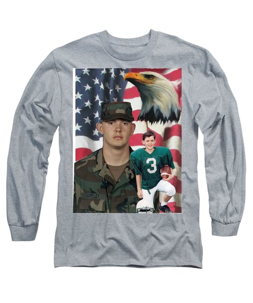 Texas Hero Long Sleeve T-Shirt by Ken Pridgeon