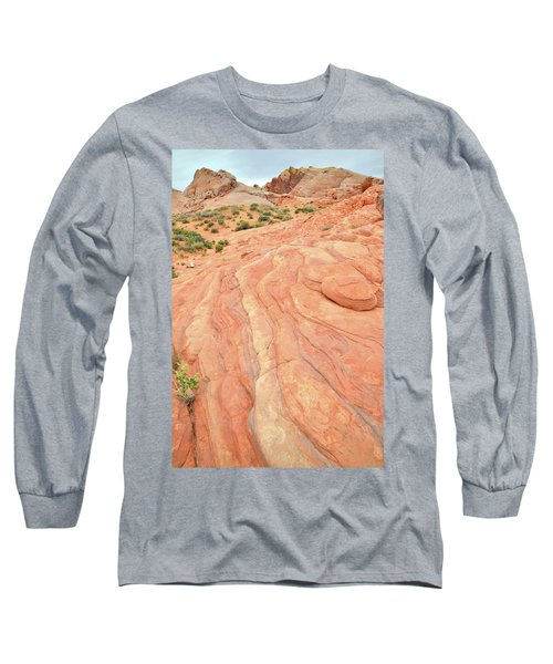 Long Sleeve T-Shirt featuring the photograph Wave Of Color In Valley Of Fire by Ray Mathis