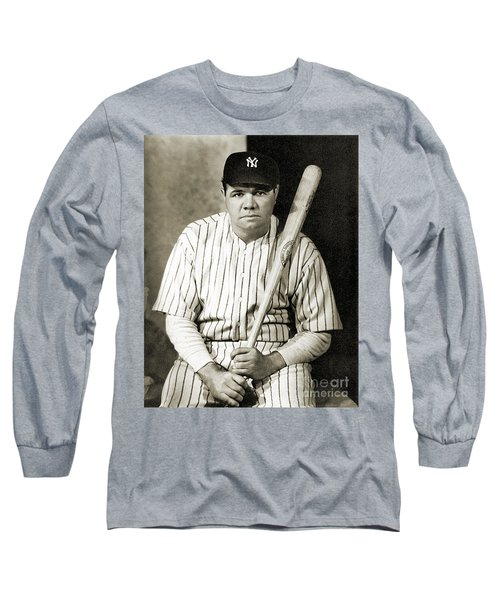 George H. Ruth (1895-1948) Long Sleeve T-Shirt
