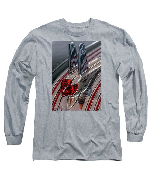 53 Pontiac Chieftan Hood Ornament Long Sleeve T-Shirt