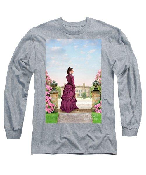 Beautiful Victorian Woman Long Sleeve T-Shirt