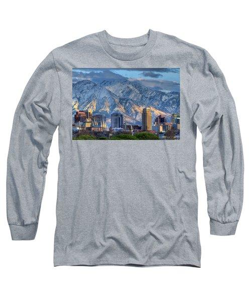 Salt Lake City Utah Usa Long Sleeve T-Shirt