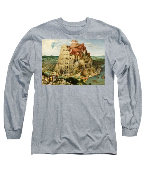 The Tower Of Babel  Long Sleeve T-Shirt