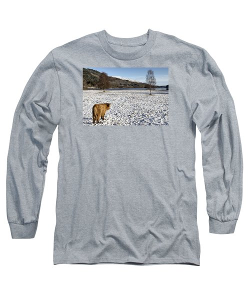 Trossachs Scenery In Scotland Long Sleeve T-Shirt