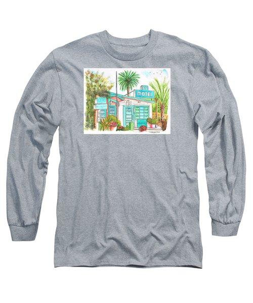 66 Motel In Needles, California Long Sleeve T-Shirt