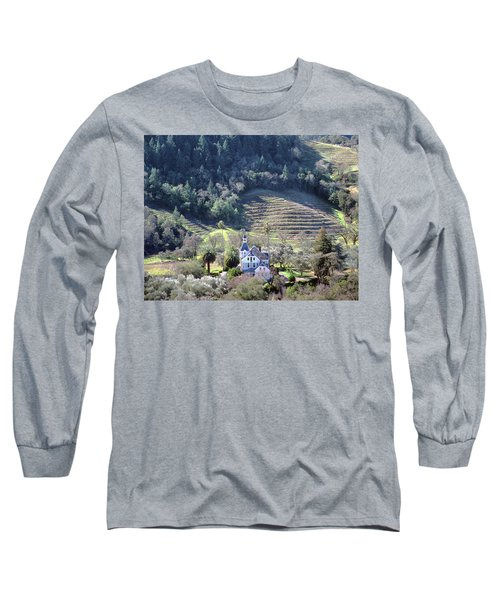 6b6312 Falcon Crest Winery Grounds Long Sleeve T-Shirt
