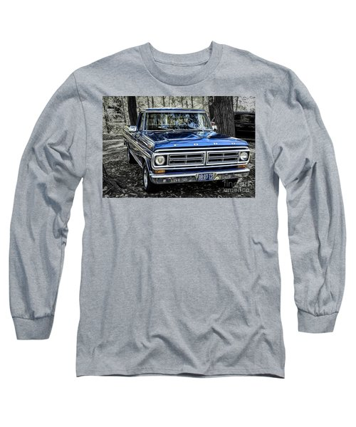 Long Sleeve T-Shirt featuring the photograph 73 Ford Pickup by Brad Allen Fine Art