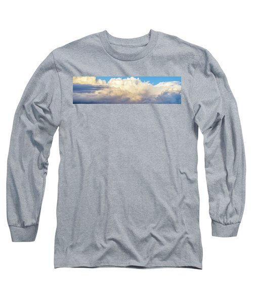 Long Sleeve T-Shirt featuring the photograph Clouds by Les Cunliffe