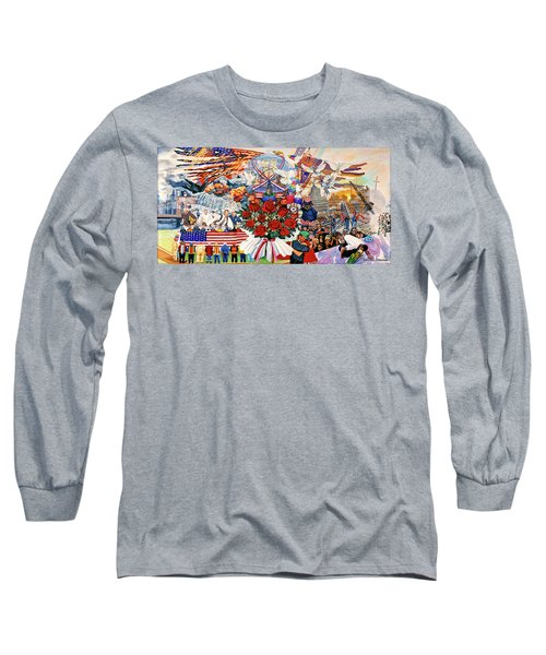 9/11 Memorial Towel Version Long Sleeve T-Shirt