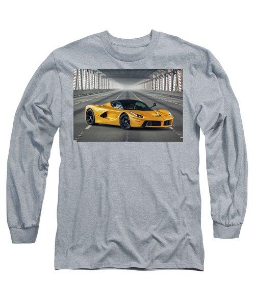 #ferrari #laferrari Long Sleeve T-Shirt
