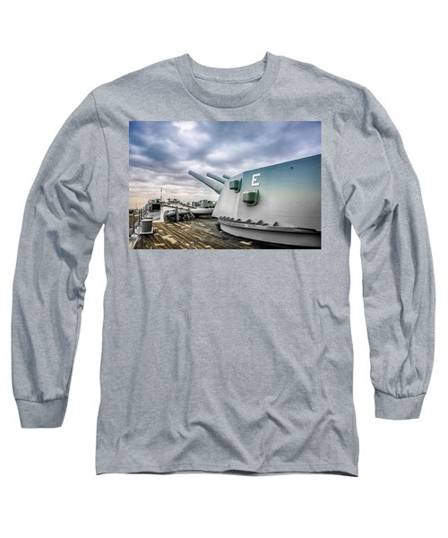 Uss Alabama Long Sleeve T-Shirt by Chris Smith