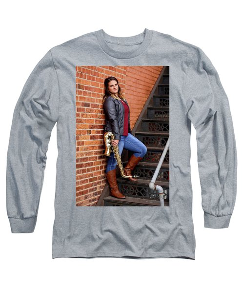 9g5a9460_ee Long Sleeve T-Shirt by Sylvia Thornton