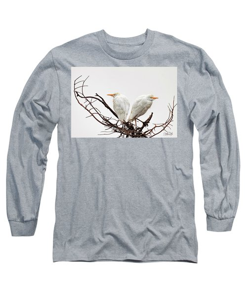 A Basket Of Anger Long Sleeve T-Shirt by Cyndy Doty