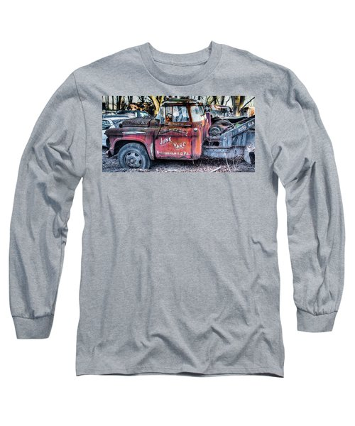 A Beautiful Rusty Old Tow Truck Long Sleeve T-Shirt