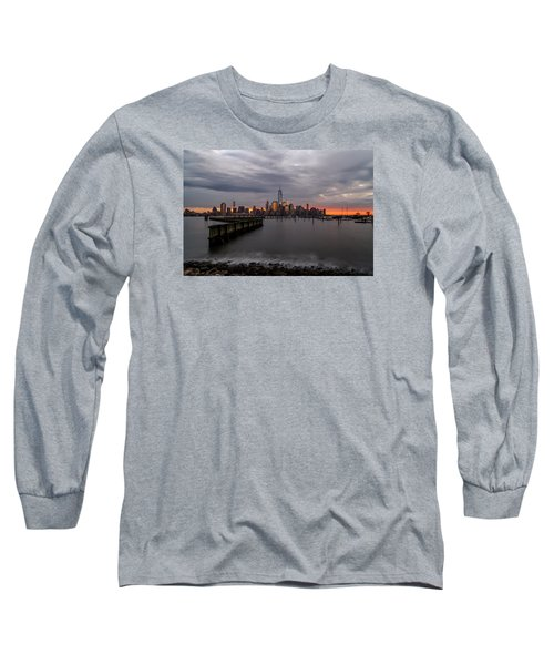 Long Sleeve T-Shirt featuring the photograph A Blaze Of Glory by Anthony Fields