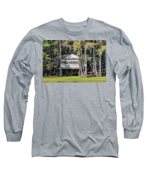 A Boggy Tea Room Long Sleeve T-Shirt