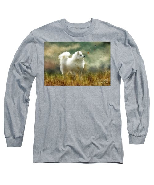 A Brief Encounter Long Sleeve T-Shirt by Lois Bryan