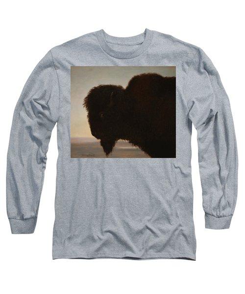A Bull Buffalo Long Sleeve T-Shirt