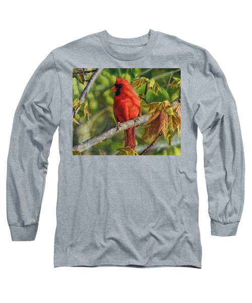 A Cardinal Named Carl Long Sleeve T-Shirt