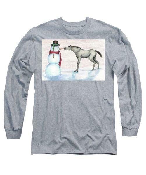 A Christmas Carrot Long Sleeve T-Shirt
