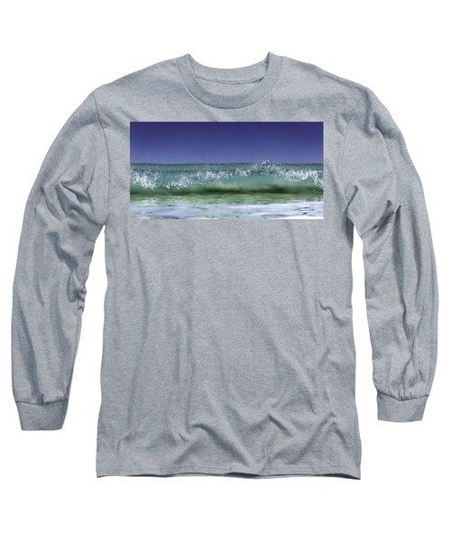 Long Sleeve T-Shirt featuring the photograph A Clean Break by Chris Cousins