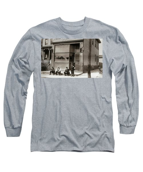 A Coal Miners Bar  George Ave Parsons Pennsylvania Early 1900s Long Sleeve T-Shirt