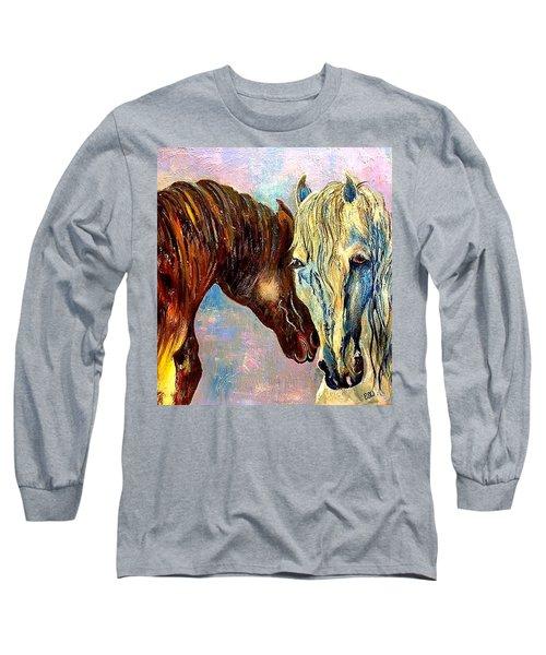 A Couple Of Horses Long Sleeve T-Shirt