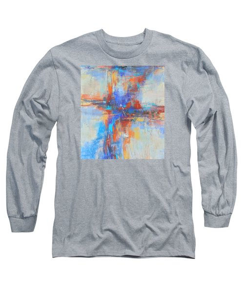 A Deep Breath Long Sleeve T-Shirt by Becky Chappell