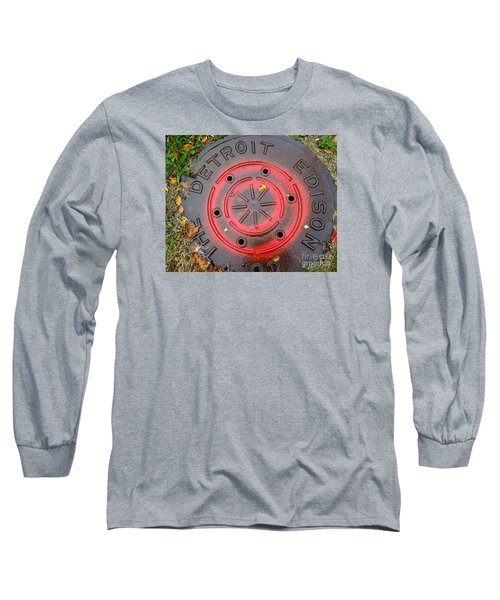Red Circles  Long Sleeve T-Shirt