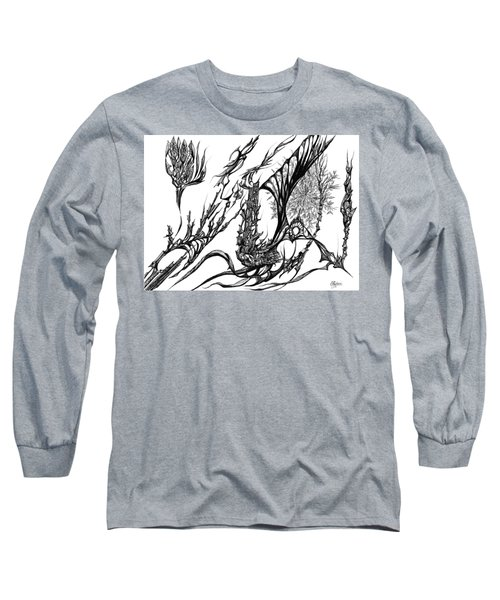 A Different Slant Long Sleeve T-Shirt