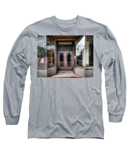 A Doorway In Port Jervis Long Sleeve T-Shirt