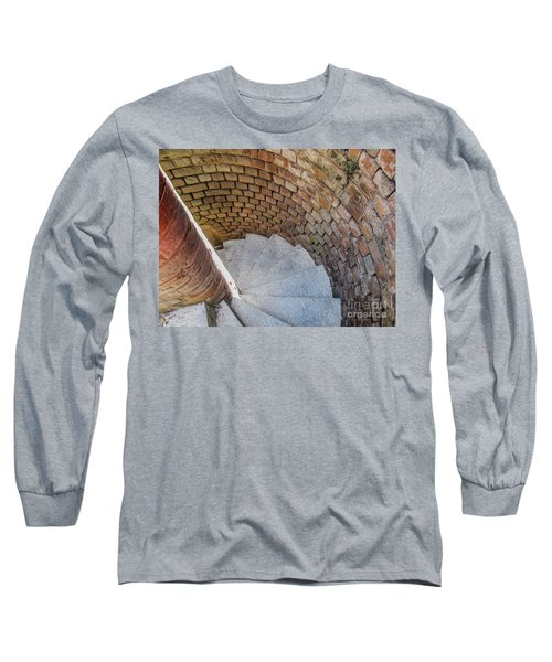 A Downward Spiral In Time Long Sleeve T-Shirt