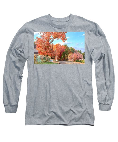 A Drive In The Country Long Sleeve T-Shirt
