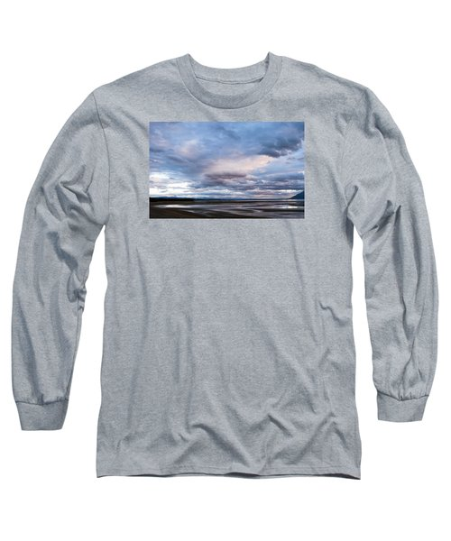 Long Sleeve T-Shirt featuring the photograph A Dry Jackson Lake by Monte Stevens