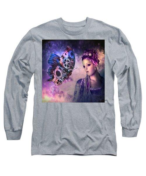 A Fairy Butterfly Kiss Long Sleeve T-Shirt