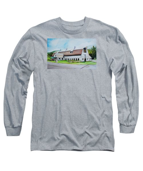 A Farmstand  In The Berkshires Long Sleeve T-Shirt by P Anthony Visco