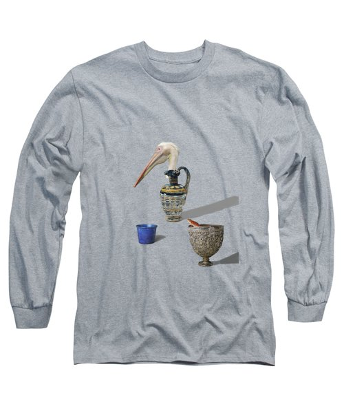 A Game Of Patience Long Sleeve T-Shirt by Keshava Shukla