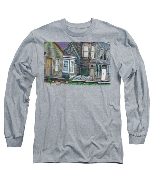 A Haimish Abode From A Bygone Era Long Sleeve T-Shirt