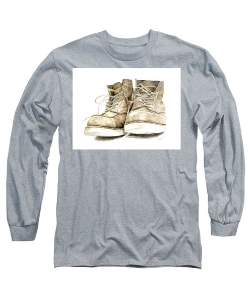 A Hard Day's Work Long Sleeve T-Shirt