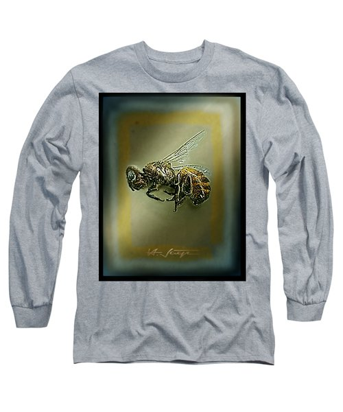 A Humble Bee Remembered Long Sleeve T-Shirt by Hartmut Jager