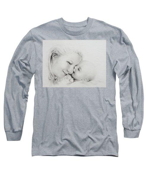 A Kiss Long Sleeve T-Shirt