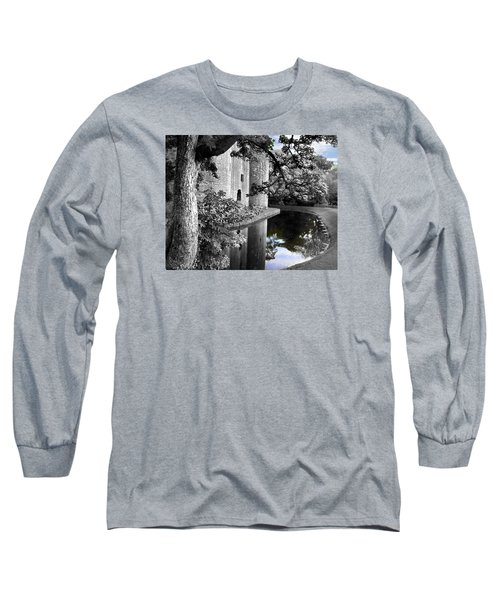A Knight's Castle In Blue Long Sleeve T-Shirt
