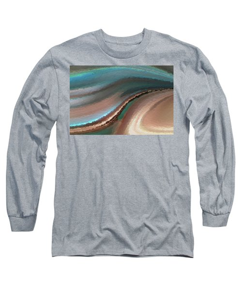 A Life Changing Belief. Romans 10 9 Long Sleeve T-Shirt by Mark Lawrence