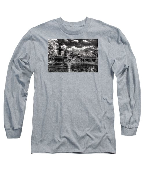 Long Sleeve T-Shirt featuring the digital art A Lily In Her Hand by William Fields