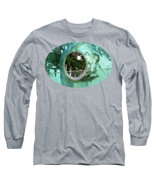 A Limited Point Of View Long Sleeve T-Shirt by Ethna Gillespie