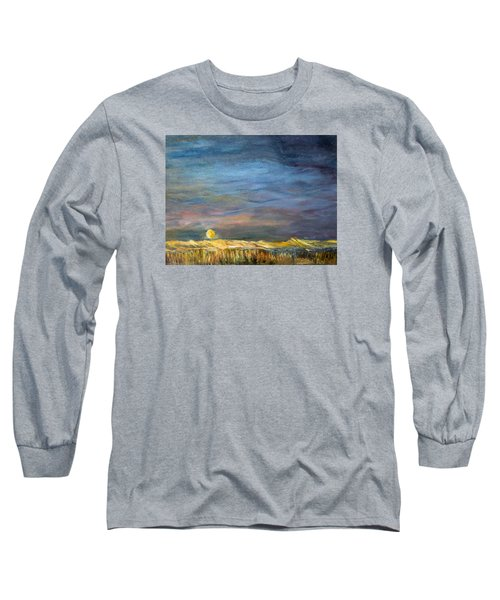 A Little Moon Magic Long Sleeve T-Shirt by Michael Helfen
